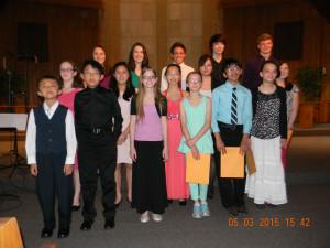 Honors Recital Group Shot